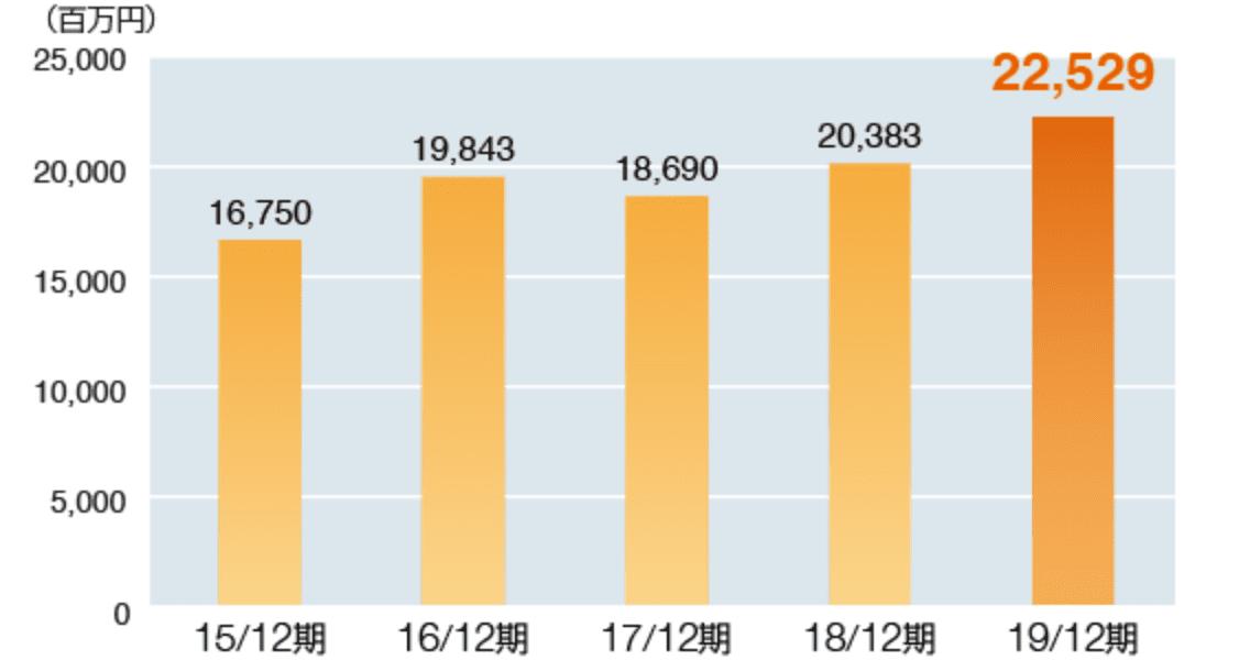 純資産額グラフ